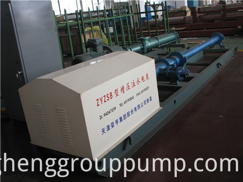 Pressurized direct connecting centrifugal pump
